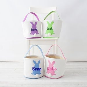 Other - Cottontail Bunny Personalized Easter Baskets!